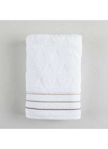 Basics By Chakra Felıcıta Banyo Havlusu 70*140 Beyaz Beyaz